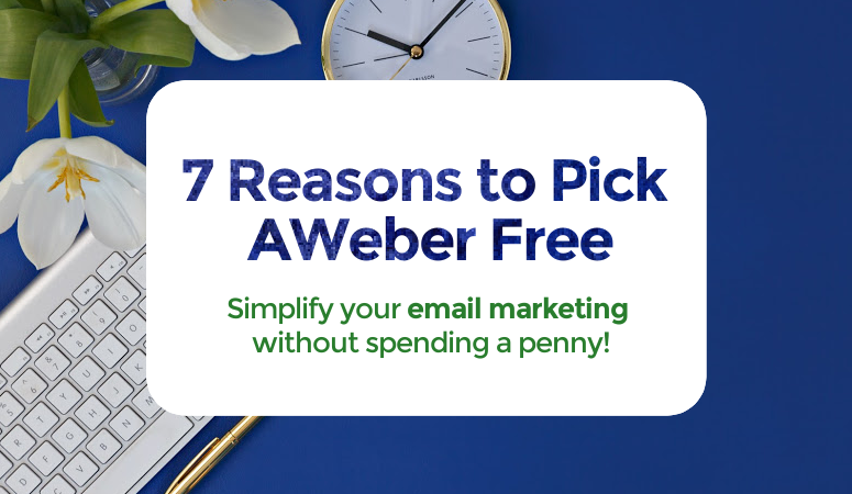 Email marketing doesn't have to be a challenge, you just need the right tools. AWeber is amazing and it just got even better! Learn more about AWeber Free! email marketing, email services, mailchimp, mailerlite, constant contact, flodesk