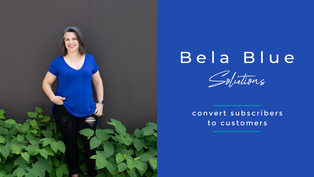 Thank you for subscribing to the Bela Blue Solutions newsletter.