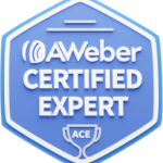 AWeber Certified Expert, ACE, Katie Guenther, Email Marketing Strategist, Bela Blue Solutions Email automation, email help for female entrepreneurs