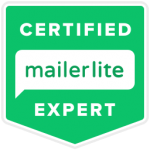 Certified MailerLite Expert, Katie Guenther, Email Marketing Strategist, Bela Blue Solutions Email automation, email help for female entrepreneurs