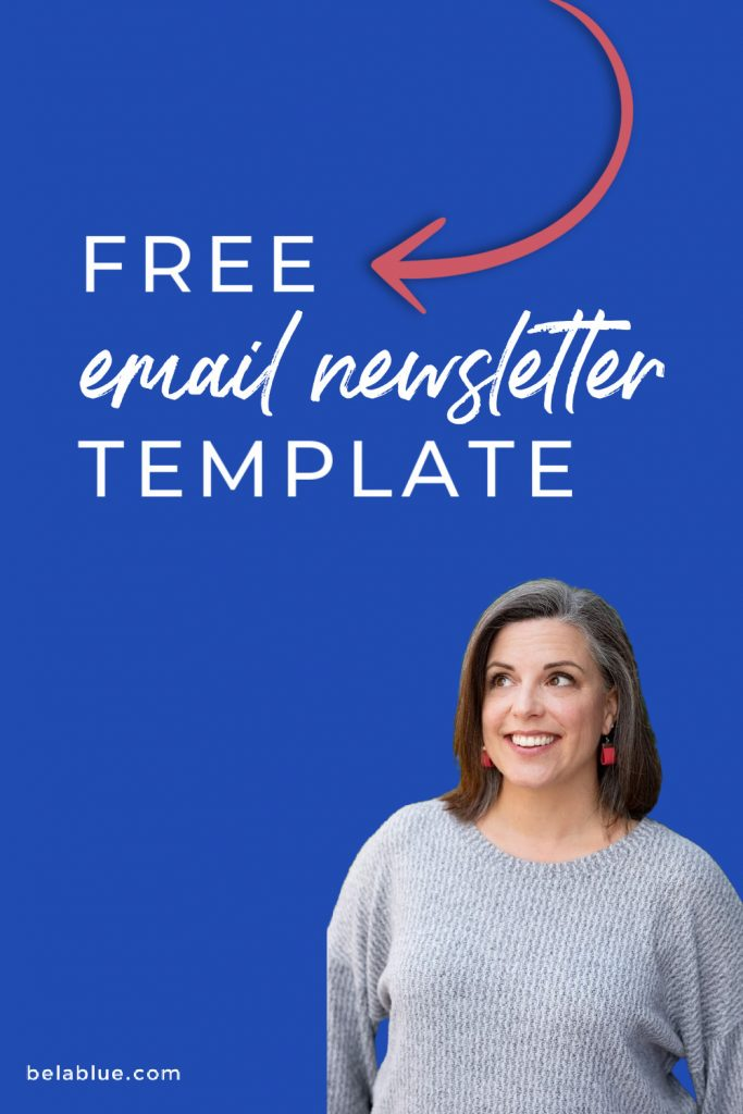 Bela Blue Solutions Free Email Newsletter Template