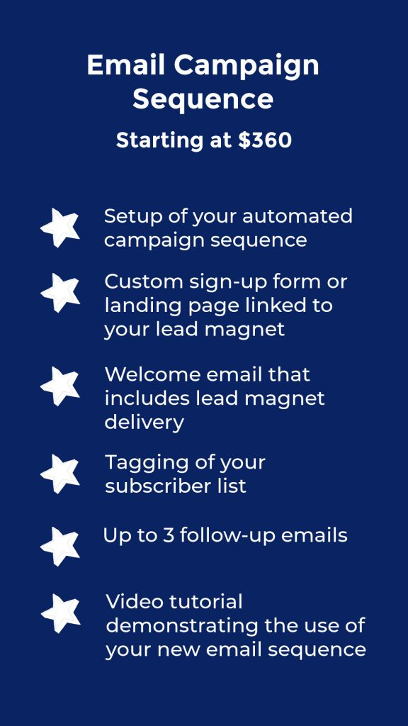 Work with me for email campaign sequences