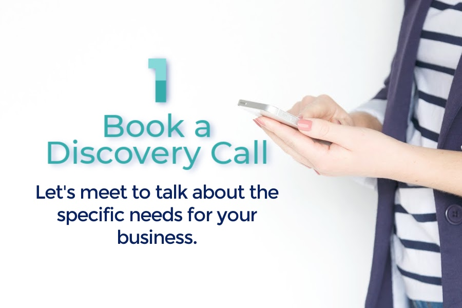 Bela Blue Solutions Book a Discovery Call